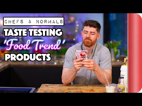 Taste Testing The Latest Food Trend Products Vol. 1