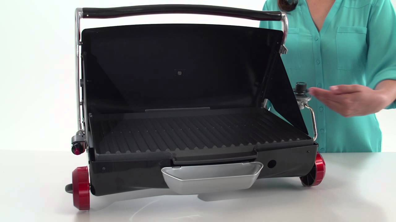 Lovely The George Foreman Portable Propane Camp U0026 Tailgate Grill