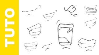 Comment dessiner DBZ La bouche Goku Vegeta Tutoriel