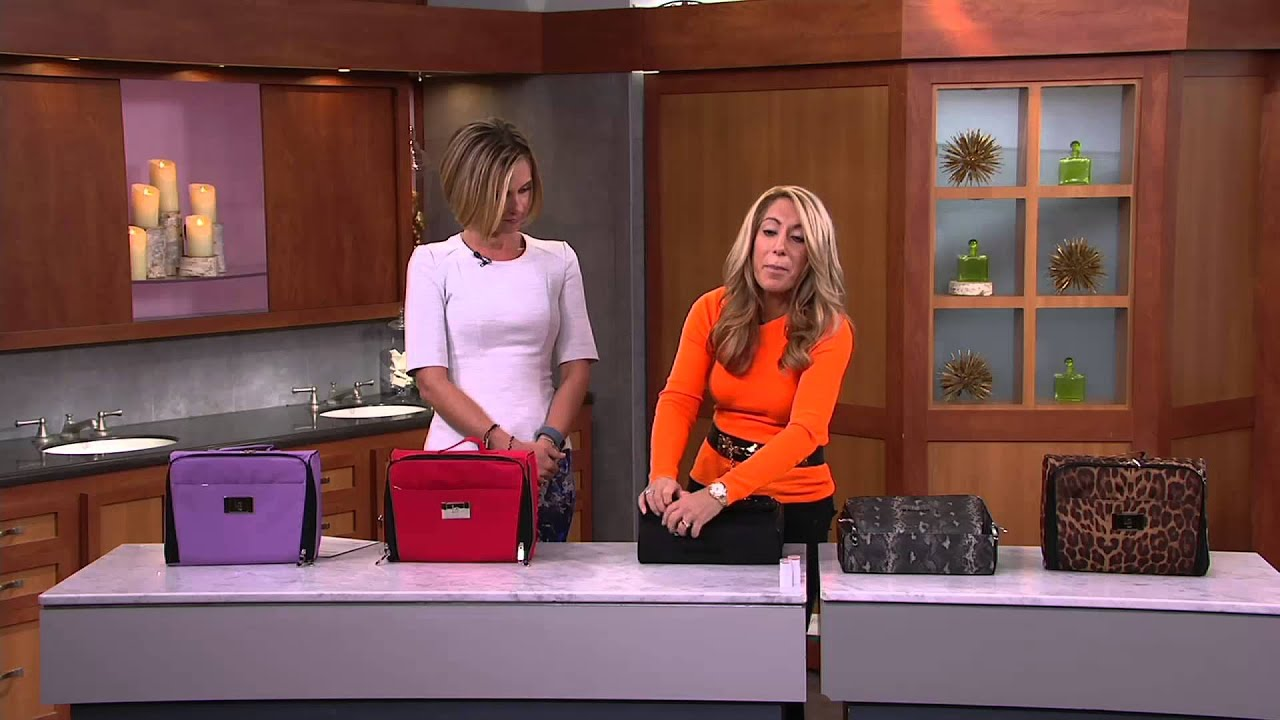 Ultimate Cosmetic Organizer Case by Lori Greiner on QVC YouTube