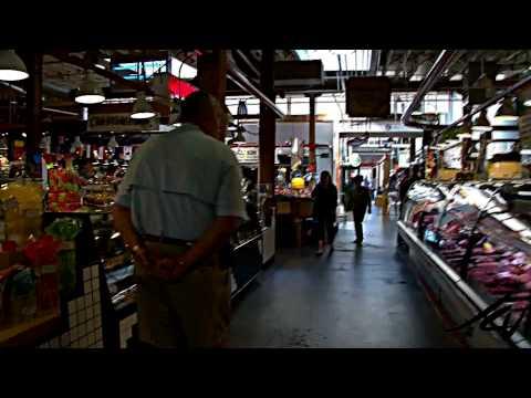 Granville Island Public Market HD - Vancouver BC