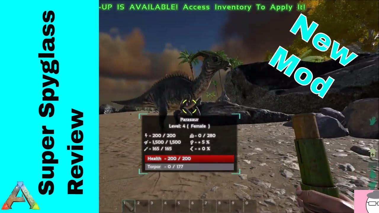 Super spyglass mod review ark survival evolved youtube arksurvivalevolved arkmod ark malvernweather Image collections