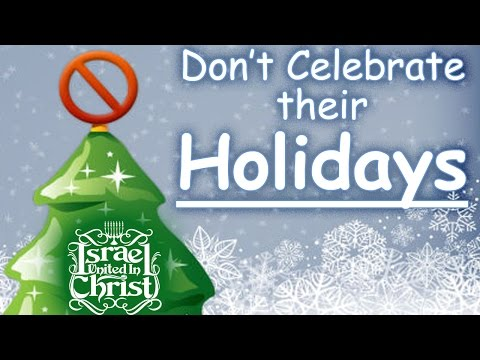 The Israelites: Don't Celebrate Their Holidays - Protest Response