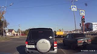 ВАЗ и Хонда на красный