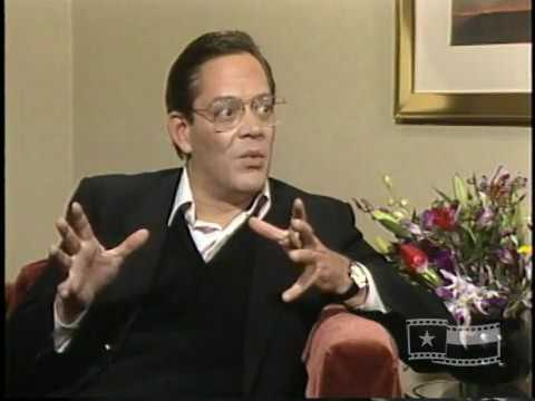 An  with actor Raul Julia part 2