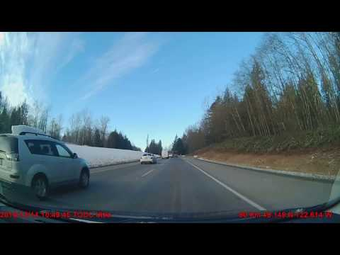 Reckless driver in Langley, BC