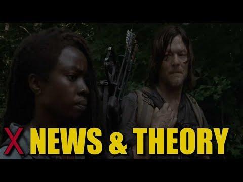The Walking Dead Season 9 X Scar Theory & News - How Did Daryl & Michonne Get The X Scar?
