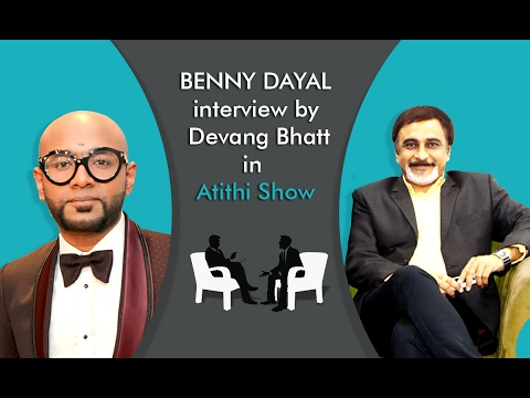 Benny Dayal | Singer | Live Songs Performance | Interview by Devang Bhatt