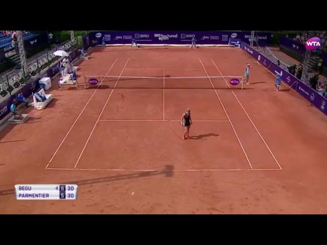 2017 Bucharest Open Quarterfinals | Shot of the Day | Irina-Camelia Begu