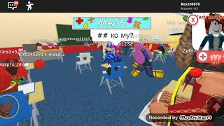 ROBLOX School #1 First lesson