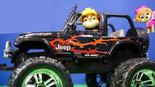 PAW PATROL Nickelodeon Paw patrol Rubble