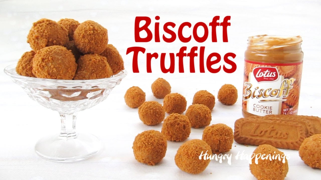 Biscoff Truffles - A Wonderful 3-Ingredient Candy Recipe ...