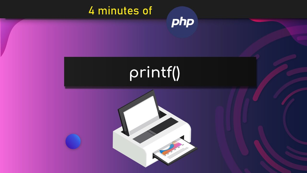 How to use printf() in PHP – In 4 Minutes