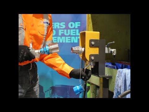 How to use the Banlaw GTX (Grease Transfer Coupling) - Demo