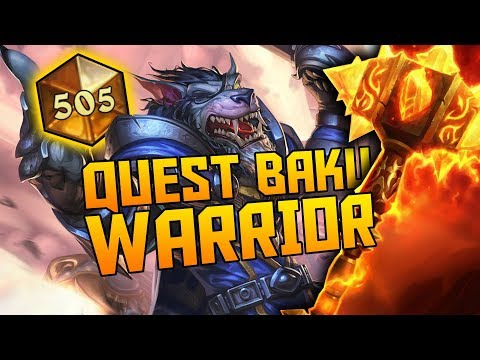 Quest Odd Baku Warrior | The Witchwood | Hearthstone Expansion
