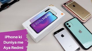 iPhone user unboxes Redmi Note 8