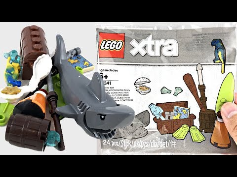 LEGO Xtra Sea Accessories 2019 polybag review! Is it worth the price?!