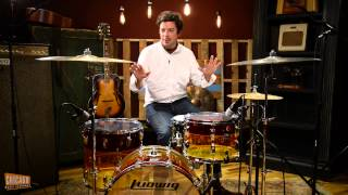 Ludwig Drum Kit Demo w/ Istanbul Cymbals feat. Charlie Hall of The War On Drugs