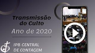 06/09/20   Culto Dominical e Santa Ceia