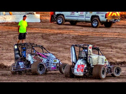 Mini Sprint Main At Canyon Speedway Park October 1st 2016