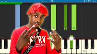 Lil Tjay - F.N. - Piano Tutorial