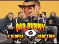 HE'S THE GOAT! Bad Bunny - X 100PRE Full Album Reaction/Review