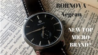 This Classic Style Watch is Nice! Bornova Aegean Review
