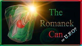 The Romanek Can, UFO or Fata Morgana Optical Illusion?