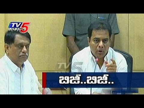 Minister KTR for Geo-Mapping, Tagging of Mines, Minerals | TV5 News