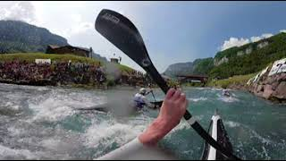 360° VR on Great Britains K1 Team / 2018 ICF Wildwater Canoeing World Championships Muota thumbnail