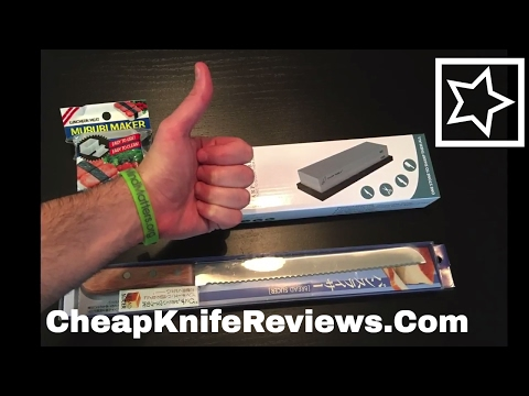 Tojiro Bread Knife, Model F-737 Unboxing and Test
