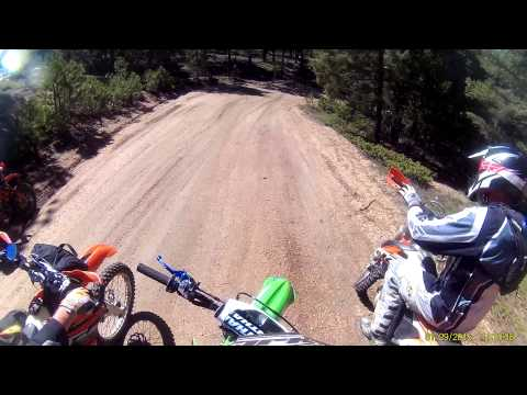 Rampart Range Colorado OHV dirt bike trail riding 627, 679