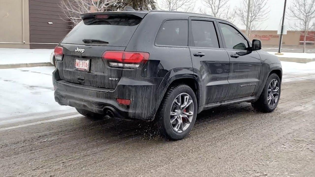 Jeep Grand Cherokee Tires >> Jeep Grand Cherokee Srt Gets Winter Tires