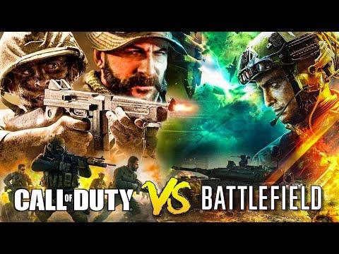 The Battlefield vs Call of Duty War