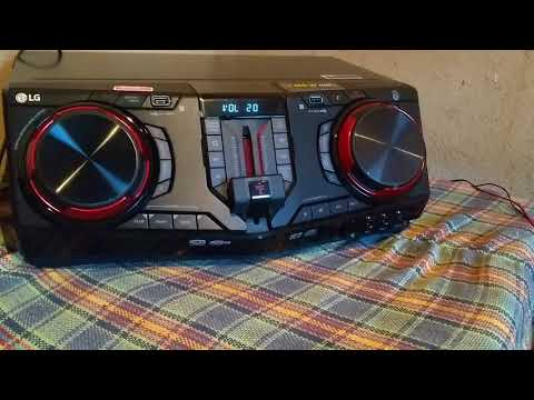 Mini system lg cj87 tocando legal 😎
