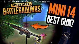 BEST GUN IN PUBG MOBILE SO FAR!