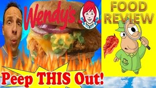 Wendy's® Jalapeño Fresco Spicy Chicken Sandwich Review! Peep This Out!