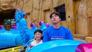 컬러 미끄럼틀 키즈카페 놀이터 놀이공원 놀이 Learn Colors Slide playground for kids & children | 말이야와아이들 MariAndKids