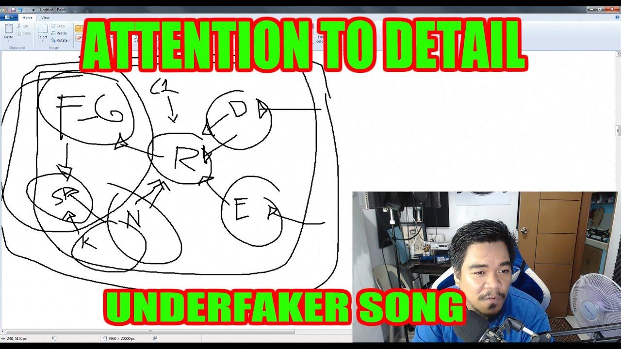 Attention to Detail & Hidden Meaning (UNDERFAKER) - [Rap