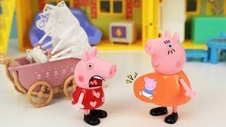 Peppa Pig Português Brasil | Mamae Pig GRAVIDA DE BEBES!