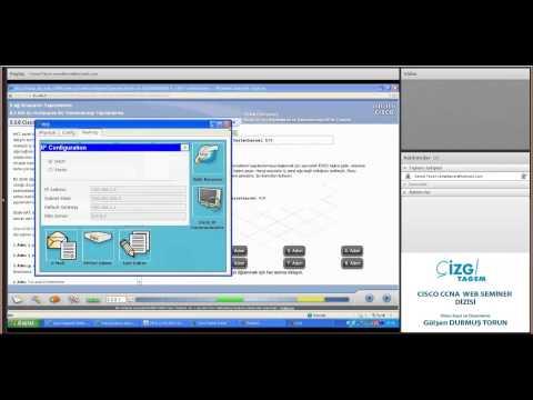 15. oturum : DHCP Yapılandırması, NAT Yapılandırma,Yapılandırma Yedekleme.