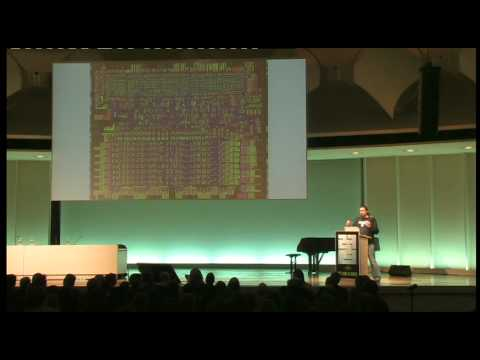 27c3: Reverse Engineering the MOS 6502 CPU (en)