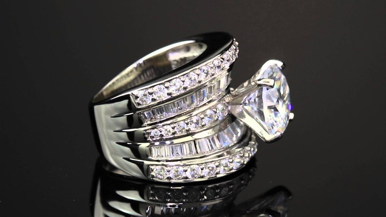 one multiple detailed crossing is diamond hand ring this intricate and pin right bands with over multi