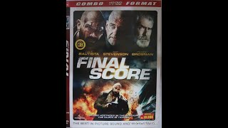 Opening to Final Score 2018 DVD
