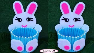 Ide Membuat Tempat Permen Kelinci dari Flanel || Tempat Permen || Candy Box