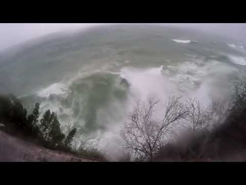 Epic Lake Superior Waves
