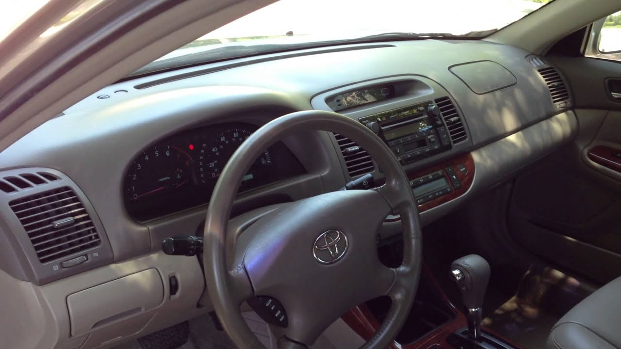 2004 toyota camry xle v6 view our current inventory at youtube. Black Bedroom Furniture Sets. Home Design Ideas