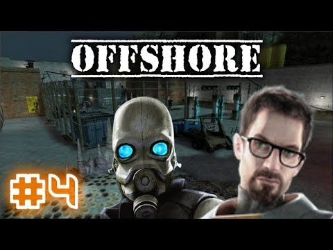 Offshore - Мод для Half-Life 2 Episode 2! |#4| (Эта тюрьма ОГРОМНА!)