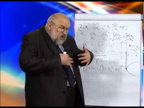 Лекция 1: Линейные дифференциальные уравнения первого порядка с частными производными