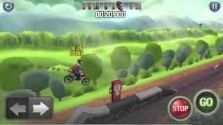 Bike Baron Walkthrough - Barrel Bridge - Easy - HD Walkthrough